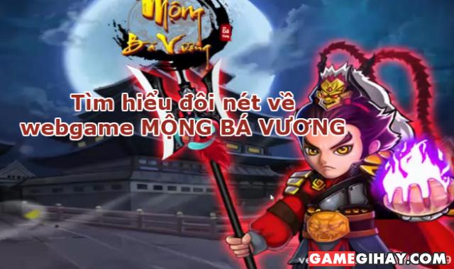 Giới thiệu webgame Mộng Bá Vương