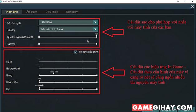 [Xuất Kích] Hướng dẫn các game thủ làm quen với game + Hình 3