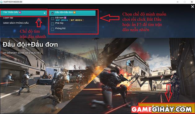 [Xuất Kích] Hướng dẫn các game thủ làm quen với game + Hình 10