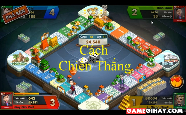 Giới thiệu đôi nét về trò chơi Cờ Tỷ Phú 360 cho Mobile + Hình 2