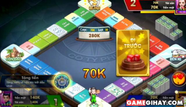 Hướng dẫn chơi cờ Tỷ phú 360 trên điện thoại di động + Hình 2