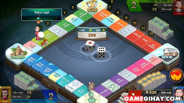 Hướng dẫn chơi cờ Tỷ phú 360 trên điện thoại di động + Hình 4