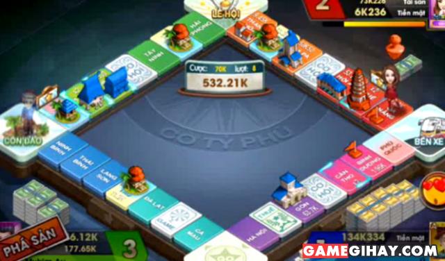 Hướng dẫn chơi cờ Tỷ phú 360 trên điện thoại di động + Hình 5