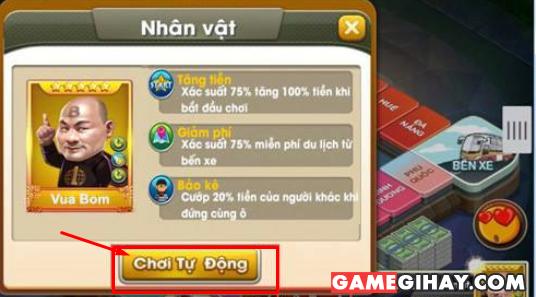 Hệ thống Auto và Kết nối lại trong game Cờ Tỷ Phú 360 + Hình 2