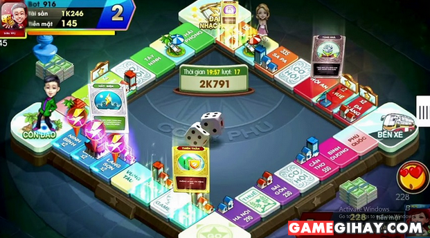 Hệ thống Auto và Kết nối lại trong game Cờ Tỷ Phú 360 + Hình 3