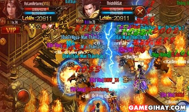 Tổng quan về game Võ Lâm Returns trên Mobile + Hình 5