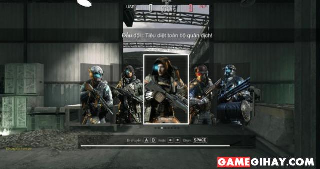 Hướng dẫn chơi chế độ ĐẤU ĐỘI trong game bắn súng Xuất Kích + Hình 4